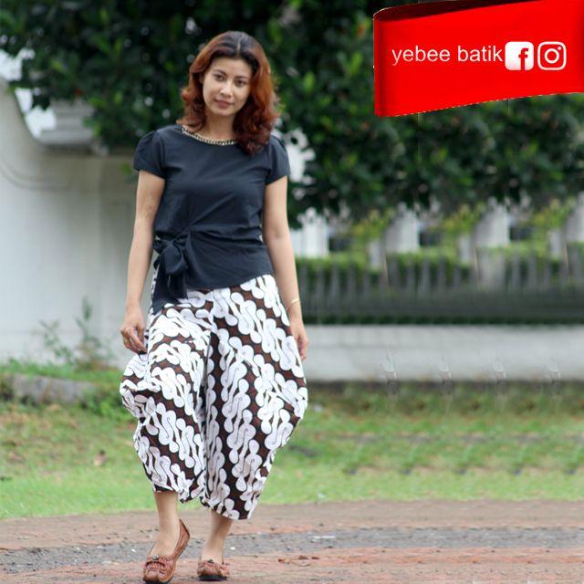 Batik Untuk Pria Remaja: 52 Best Batik Pants Celana Kulot Batik Images On Pinterest