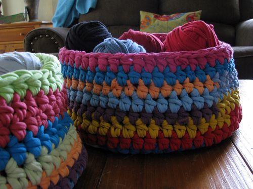 images about Knit / CrochetT-shirt Yarn T