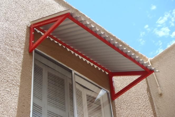 how to attach sunbrella to steel frame  Google Search  BDCS  Metal awning Outdoor decor