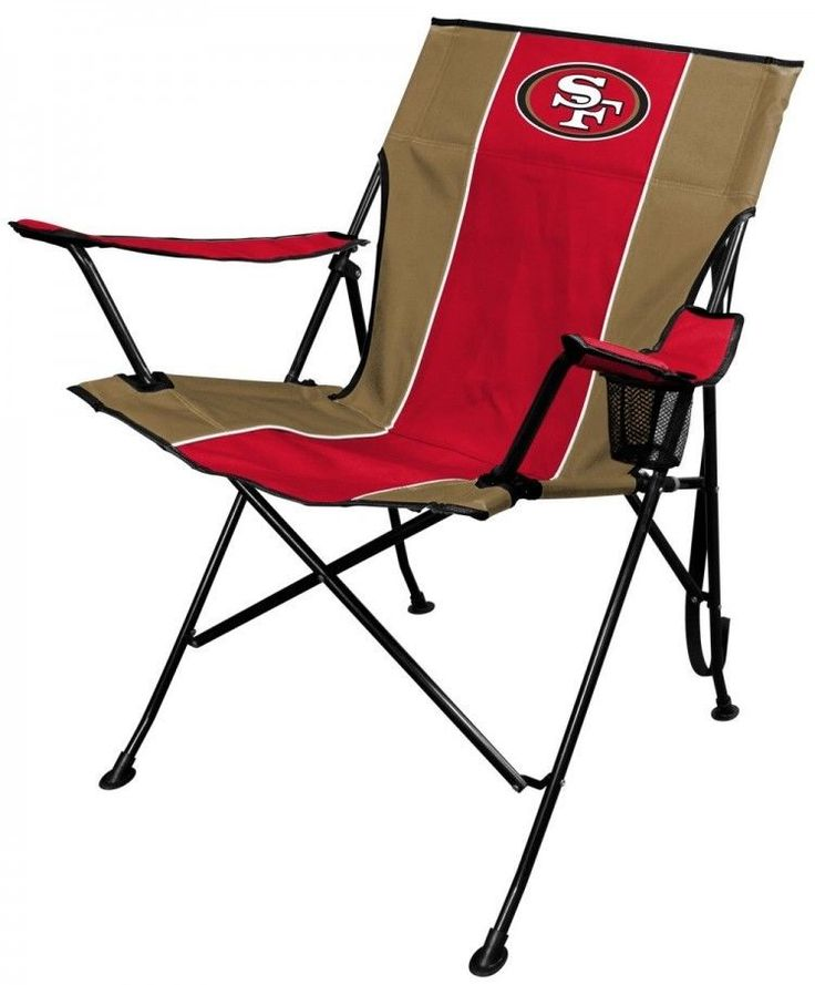 NFL Teams  Portable Folding Tailgate Chair Outdoor Live Cup Holder Carrying Case #Case