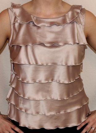 Kaufe meinen Artikel bei #Kleiderkreisel http://www.kleiderkreisel.de/damenmode/blusen/80005522-rosafarbenes-top-in-schichtoptik