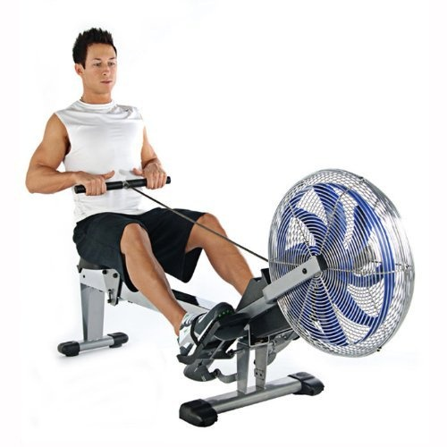 $358.01 Super-sturdy air Rowing Machine. The Stamina ATS Air Rowing Machine is designed with an over-sized chrome seat rail. Metal rowing chain for extra strength and durability. The molded seat is comfortable for all users, especially beneficial for those who enjoy a longer rowing workout. When you're not using the ATS Air Rowing Machine, simply fold it and wheel it away on its convenient, built-in casters.