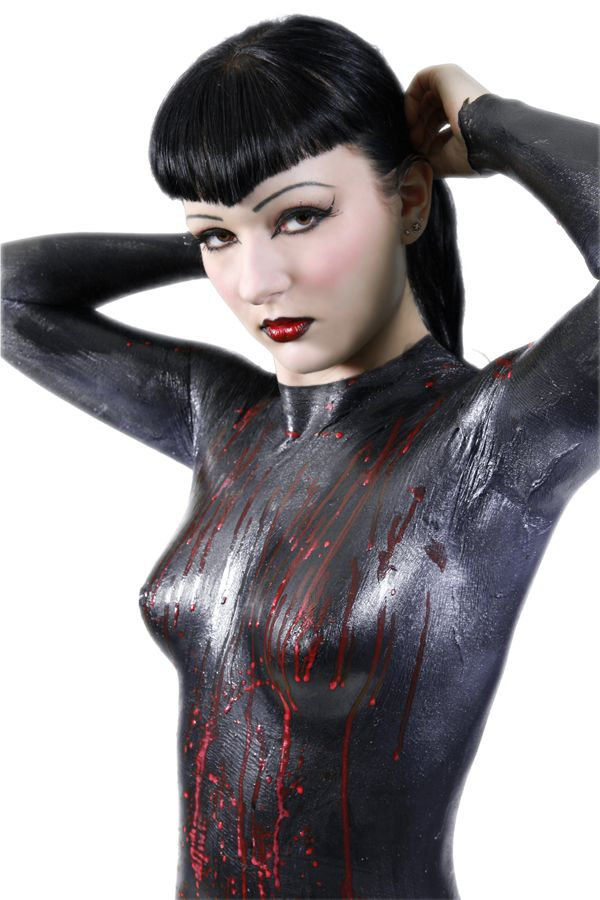 Clothes latex paint from