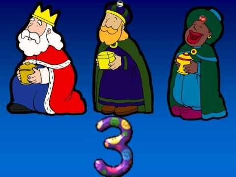 Canción de navidad - Villancico Los números van a Belén.