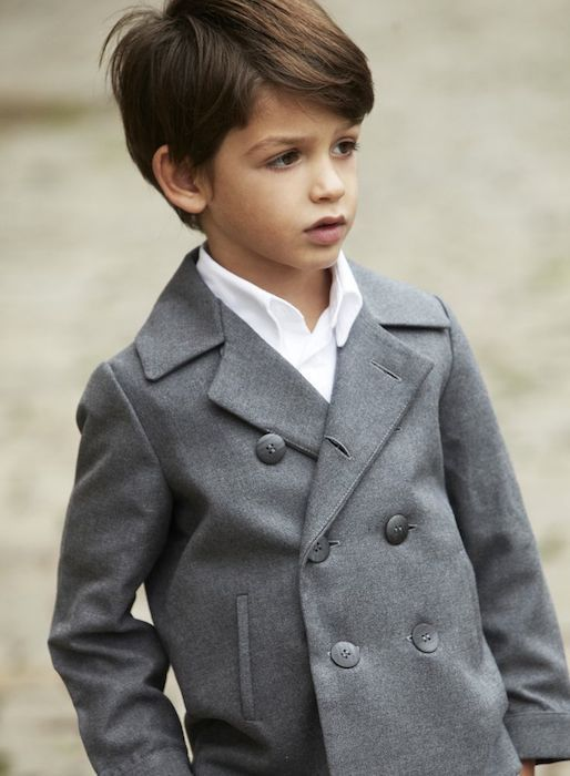 Hairstyle for boy with thick dark hair. Que guapo ;) !