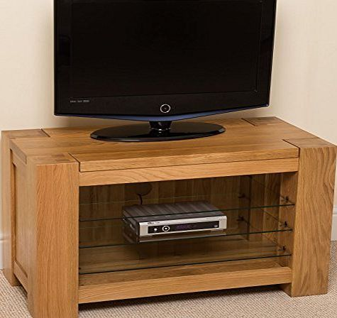 Buy Kuba Chunky Solid Oak Small Tv Cabinet Unit From Our TV Stands U0026 Units  Range At Tesco Direct. We Stock A Great Range Of Products At Everyday  Prices.