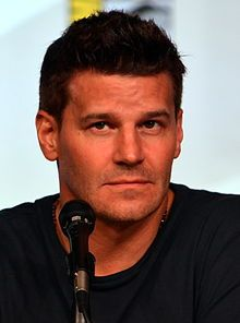 David Boreanaz Comic-Con 2012...he is slovak...