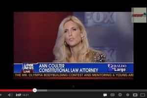 "Ann Coulter: We all have to ""pay"" for sodomy, single parenthood"
