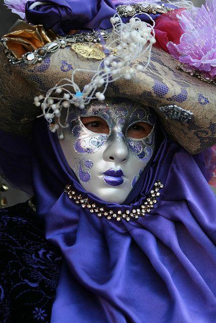 Italy / Carnival in Venice by Rudi Roels, via Flickr