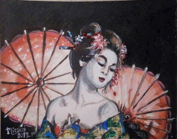 Gésa...-akril-glitter-karton-13x18 cm