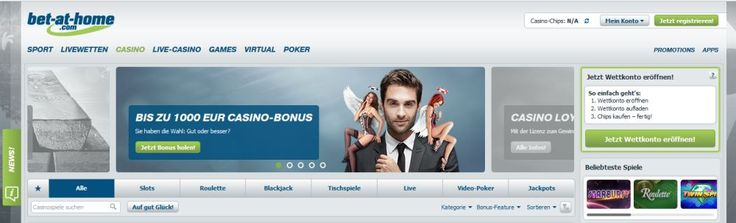 1000 Euro Bonus jetzt bei Bet-at-Home kassieren über unseren Link: https://www.casino-bonus-ohne-einzahlung.com/1000-euro-bonus-bei-bet-at-home/ Wir haben das Bet-at-Home Casino ausführlich getestet, TOP! Casino Spiele und wirklich gute Umsatzbedingungen! #CasinoBonus #Bet_at_Home #betathome #betathomecasino