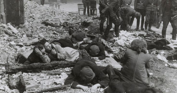 Jews Fight Back in Warsaw Ghetto Uprising - http://www.newhistorian.com/jews-fight-back-warsaw-ghetto-uprising/6319/