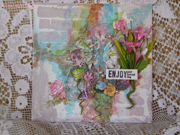 Elen ArtCrafts: Απόλαυσε την ιδιαίτερη μέρα σου.../ Enjoy your spe...