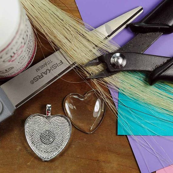 Horse Hair Pendant Kit Horse Hair Jewelry Tutorial by SHDStudios