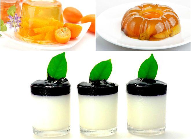 Домашнее желе с фруктами и ягодами