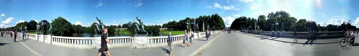 Parco Vigeland - Oslo (Samsung S2)