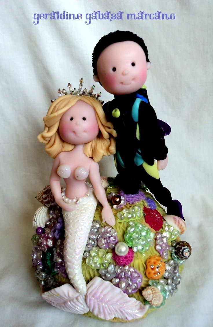 Cold Porcelain by Geraldine Gabasa Marcano. Wedding