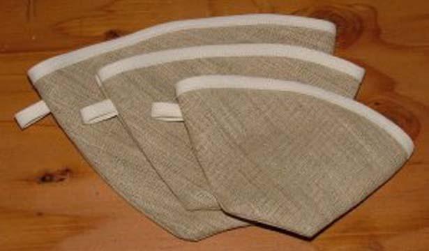 Reusable hemp Coffee filters