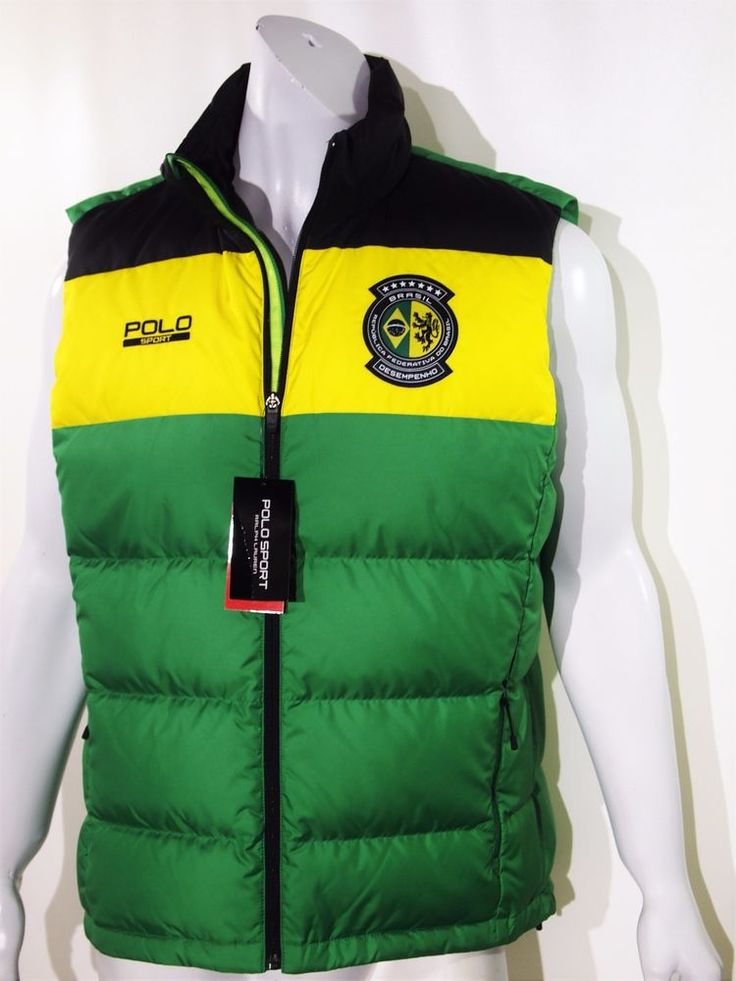 Polo Sport Ralph Lauren Brasil down feather vest size xl NEW on SALE #PoloRalphLauren
