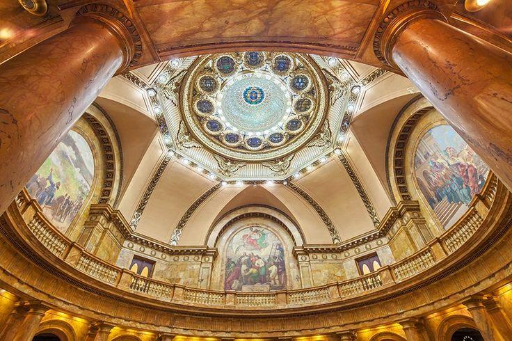 Look Inside 15 Beautiful State Capitol Buildings