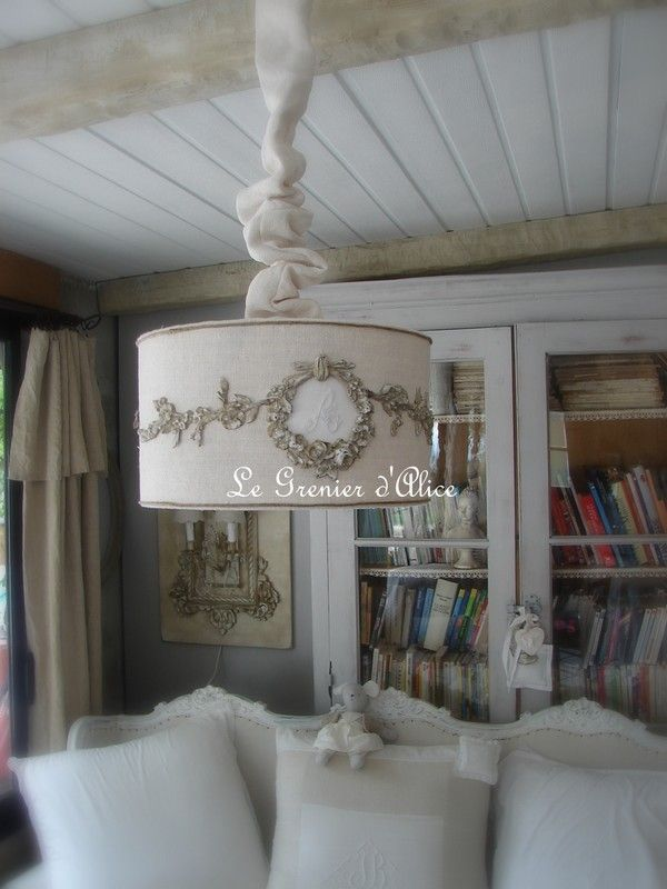 112 best Abat-jour... images on Pinterest | Lampshades, Lamp shades ...