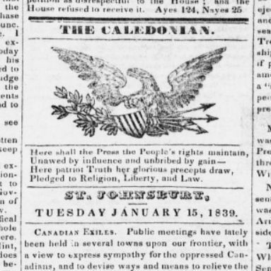 Researching old newspapers