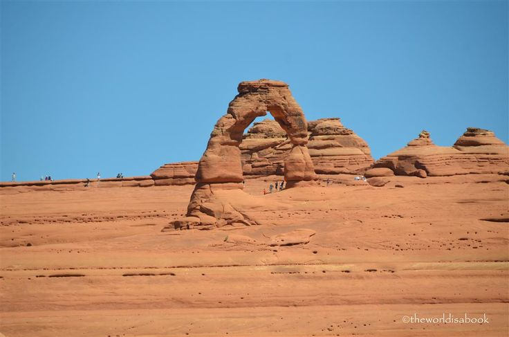 Adventures at Arches National Park - The World Is A Book