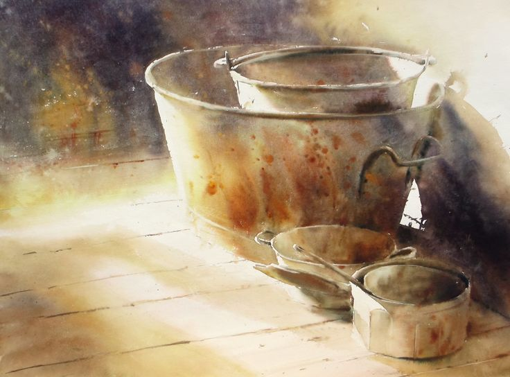 17 Best images about watercolor painting 水彩画 on Pinterest | Watercolour, Posts and Portrait