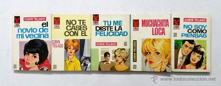 Libros de segunda mano: LOTE DE 110 NOVELAS ROMÁNTICAS CORIN TELLADO // COLECCIÓN CORAL // EDITORIAL BRUGUERA // AÑOS 60 - Foto 11 - 53486195