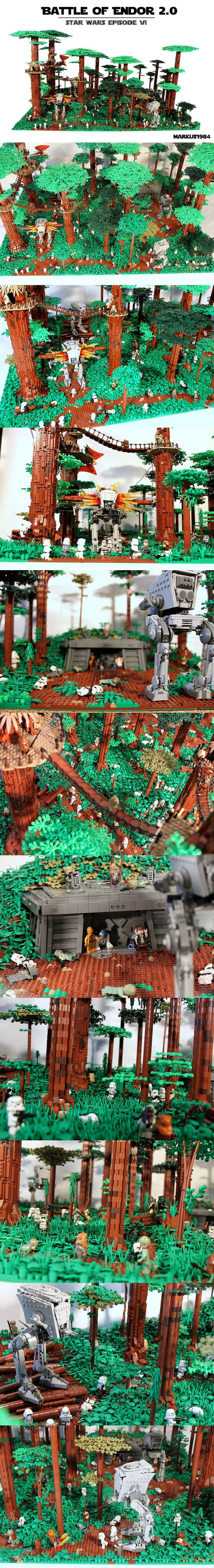 Battle of Endor... So this is on my Christmas list already!