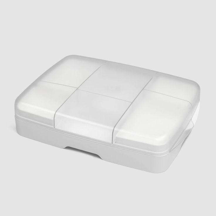 Freshbox hvit | Oppbevaringsbrett for pålegg og mat