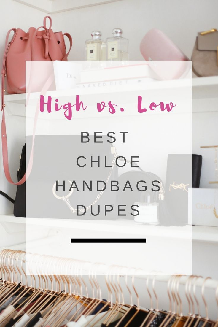 The best Chloe handbag dupes | Ioanna's Notebook