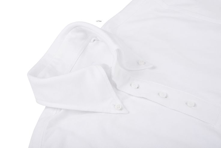Pure White Soft Pique pullover shirts from Luxire has been constructed in fine quality for desired style and comfort: http://custom.luxire.com/products/tpr-pique-pure-white-knit-tpr_005_white_pq  Features: Button down collar and 1-button cuffs.