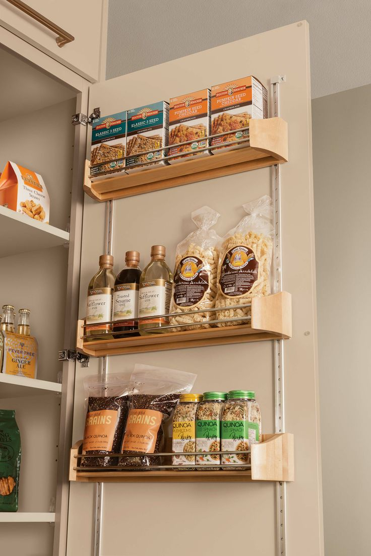 Maximize Storage In Your Kitchen Or Bathroom With: maximize kitchen storage
