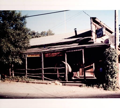 Jack London's facsmile saloon, the Rustic Inn :: Sonoma County Library Photograph Collection