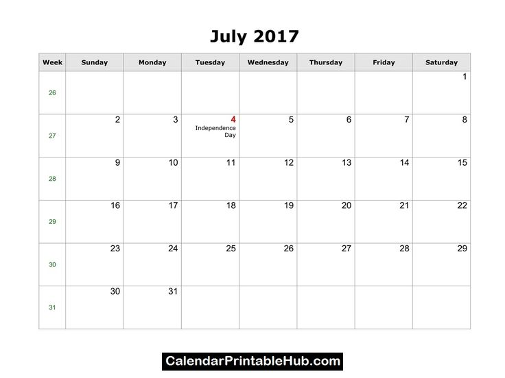 July 2017 Calendar     http://calendarprintablehub.com/july-2017-calendar-printable-template-pdf-holidays.html