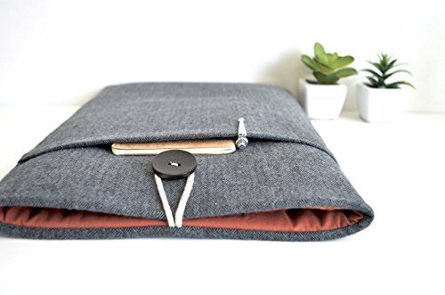 sweet  Herringbone Laptop Sleeve Case Custom Size Fit Padded Cover For Any New MacBook, MacBook Air, Surface Book or Pro, Chromebook, Dell Computer