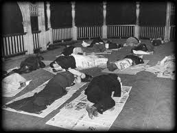 """Here men are shown sleeping on and under newspapers or """"Bennett Blankets"""" as they were commonly referred to during the 1930's.  This is evidence of the collapse of both Canada's economy, and most Canadians' way of life.  This is a real and reliable primary source."""