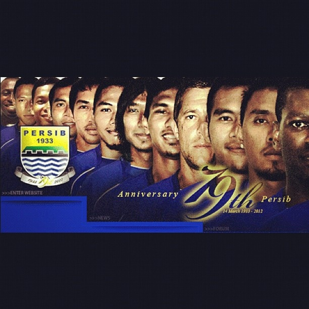 Happy 79th Anniversary #Persib