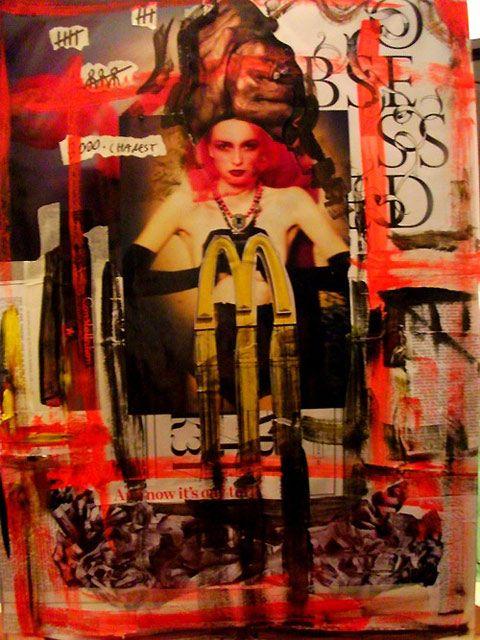 Copy Paste: collage art by Emilia Barbu