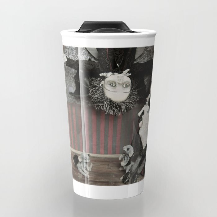 Vincent and Vanessa, the vampire children Travel Mug