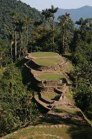 Parque Arqueológico  Ciudad Perdida, en la Sierra NEvada de Santa MArta, Colombia