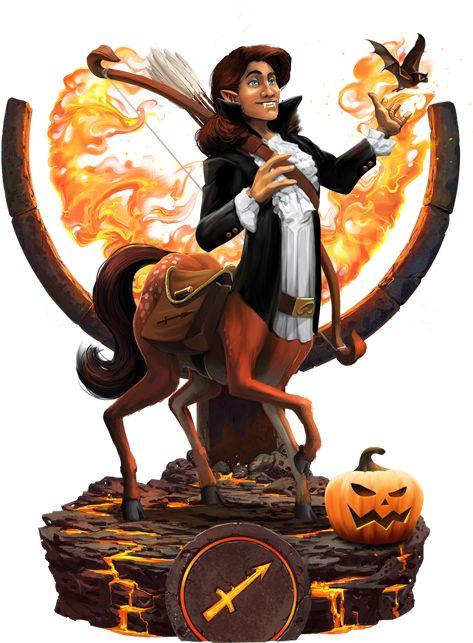Happy Halloween, Sagittarius!