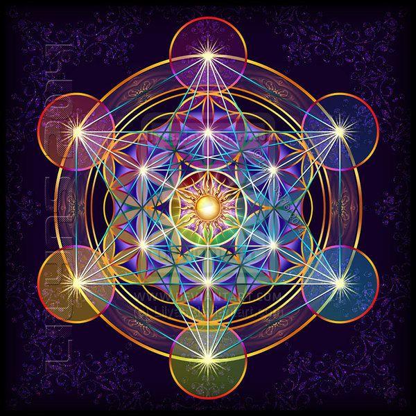 Fruit of Life - Metatron's Cube II by Lilyas.deviantart.com on @deviantART