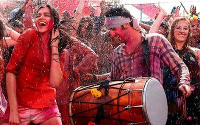 Download the best selection of Hindi Holi songs from Bollywood films and add that special flavor to your Holi party to celebrate the Indian 'Festival of Colors.'