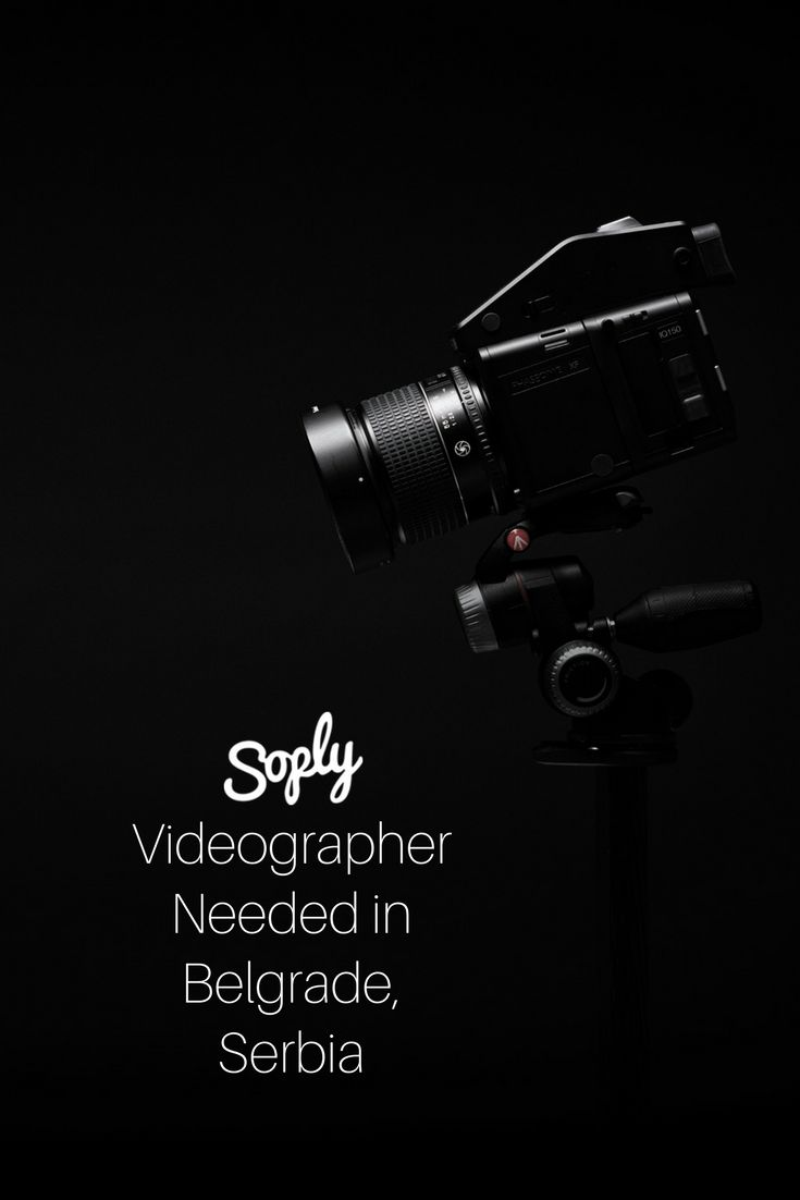 #Videographer needed for a #Documentary short film in Belgrade, Serbia. See the #videography job and apply by clicking the pin!