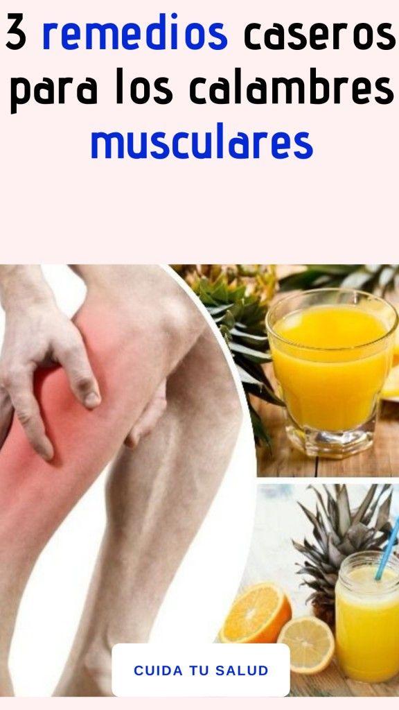 3 remedios caseros para los calambres musculares   Fruit ...