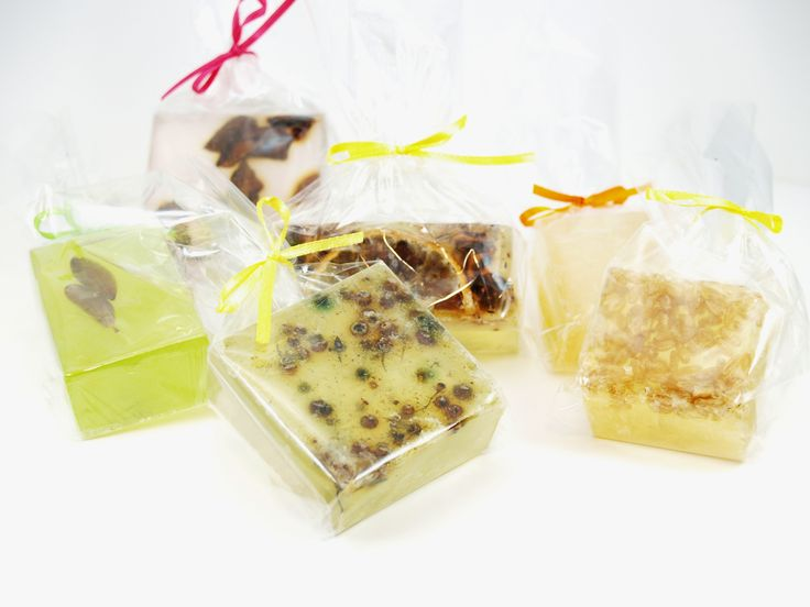 soaps with herbs and seeds