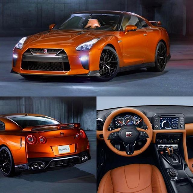 The new 2017 #NissanGTR has just been unveiled at the 2016 @nyautoshow and I have to say, it looks absolutely stunning! Its #TwinTurbo #V6 now produced 565bhp stock, the styling has received a small update (which looks great) and the interior has received a much-needed redesign/upgrade (which also looks fantastic)! What do you think of the new #Nissan #GTR #R35!? Let me know in the comments below ⬇️ 's by @nissanusa via @ecoboostfan