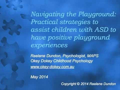 ▶ Navigating the Playground for children with Autism - Part1 - YouTube